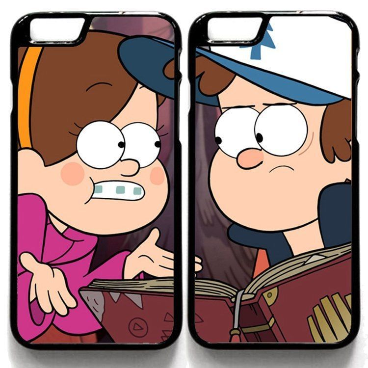 Gravity Falls Dipper Pines Mabel Pines Case Cover For Iphone