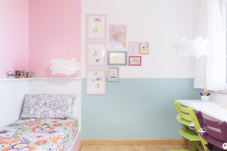 cameretta bambina colori pastello idee per arredare #cameretta #kids ...