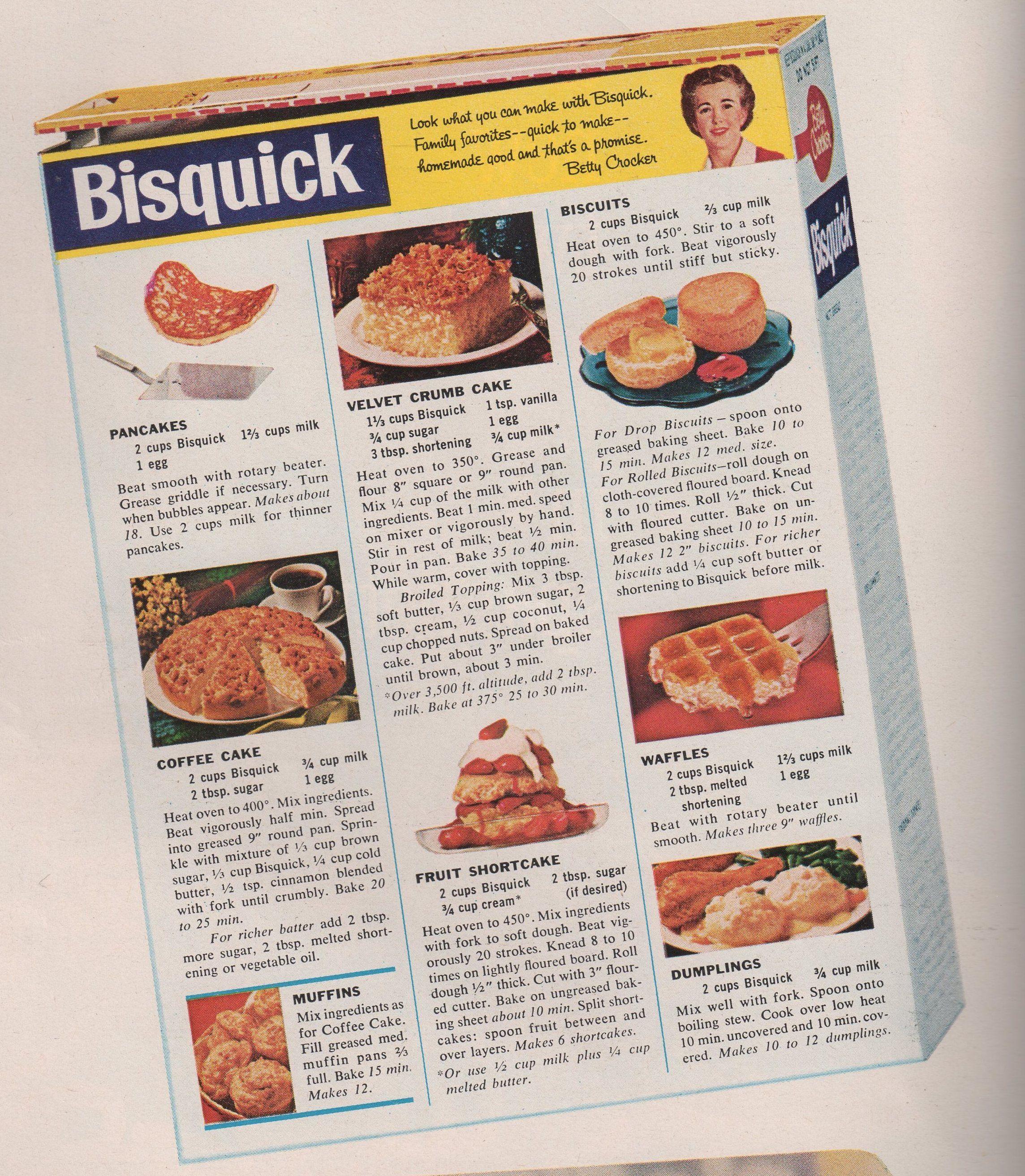 Bisquick Tea Cake Recipe