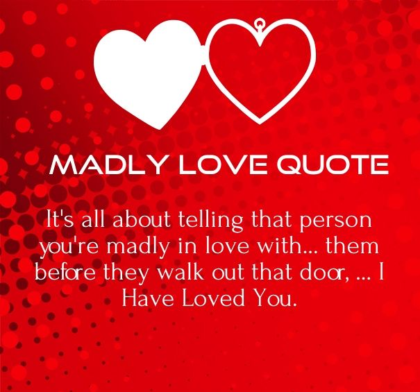 madly in love quotes for him