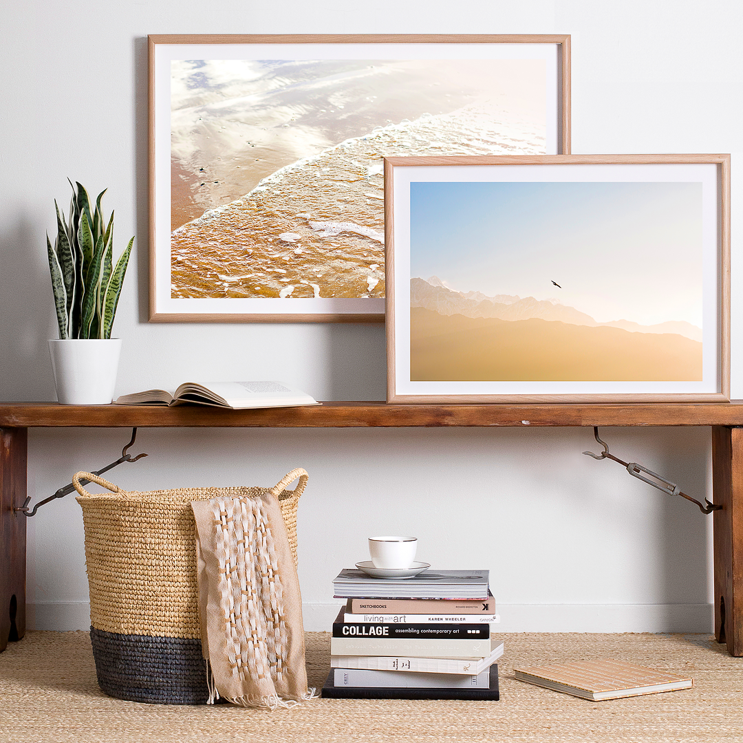 Photographic Art - Framed Wall Art - Coastal Decor - Beach Print ...