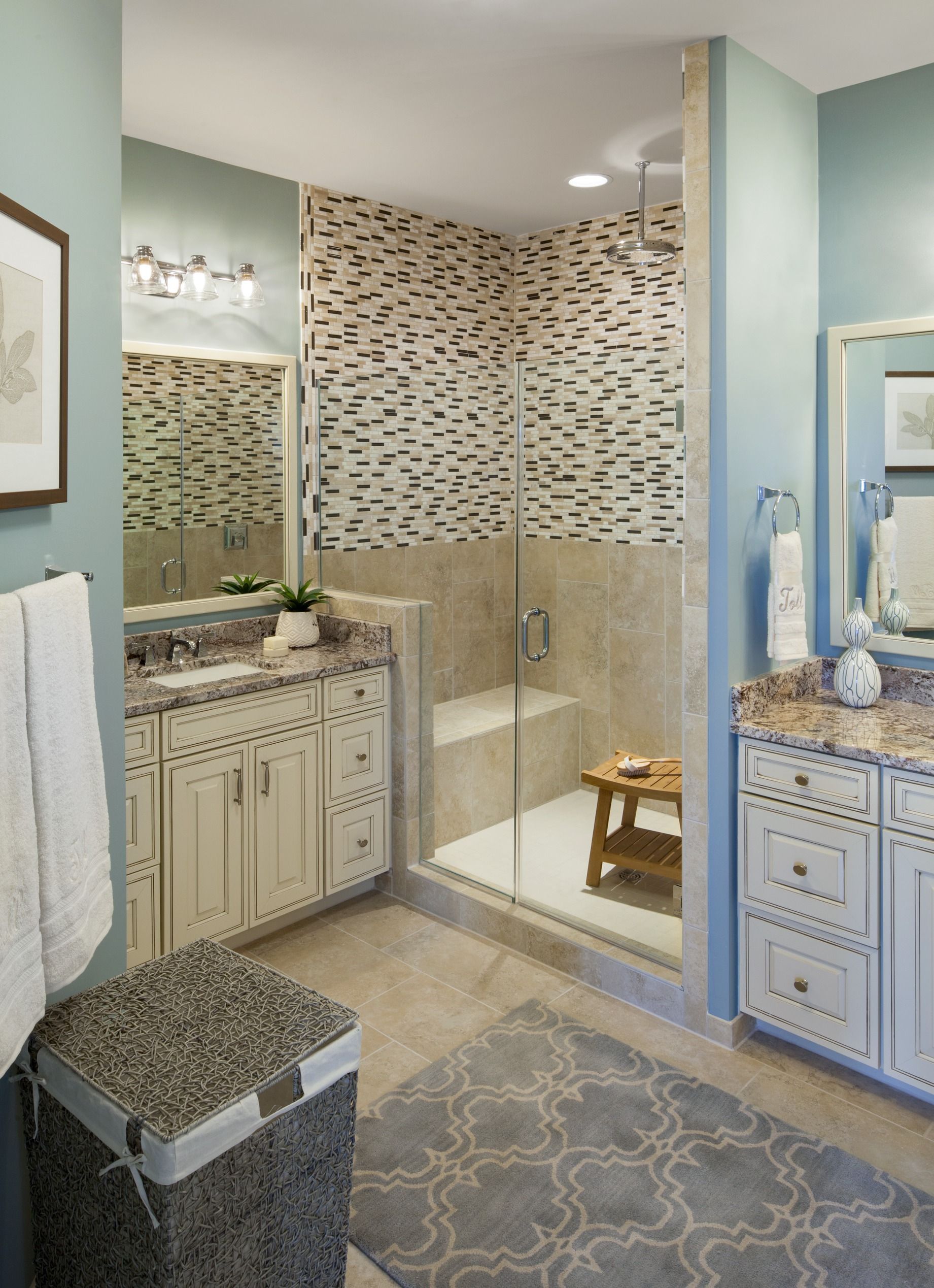 Pamper Yourself In The Gorgeous Bathroom At Woodside Moorefield Green Parson Manor Va Credit Ron Blunt Photography