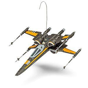 Hallmark Keepsake Star Wars™: T-70 X-Wing™ Fighter Ornament With Sound | ThinkGeek