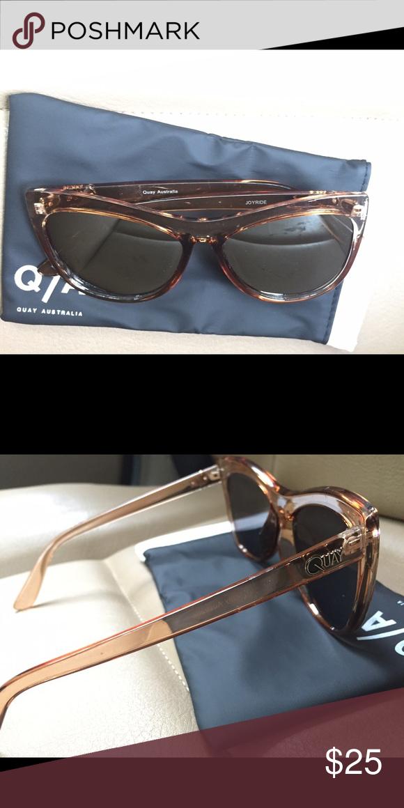 Quay sunglasses! 😍 Cat eye sunglasses perfect for summer! Originally $65 Quay Australia Accessories Sunglasses