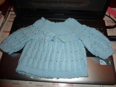 f4fa5b6d03911 tuto tricot brassiere en une piece en français Bottines De Bébé Tricotées