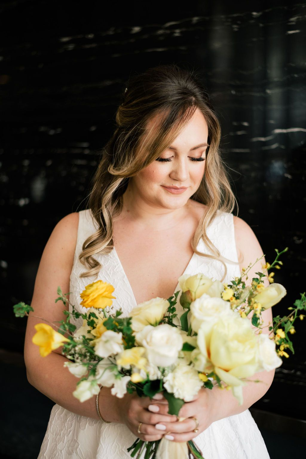 Wonderful, Warm Distillery District Wedding Wedding