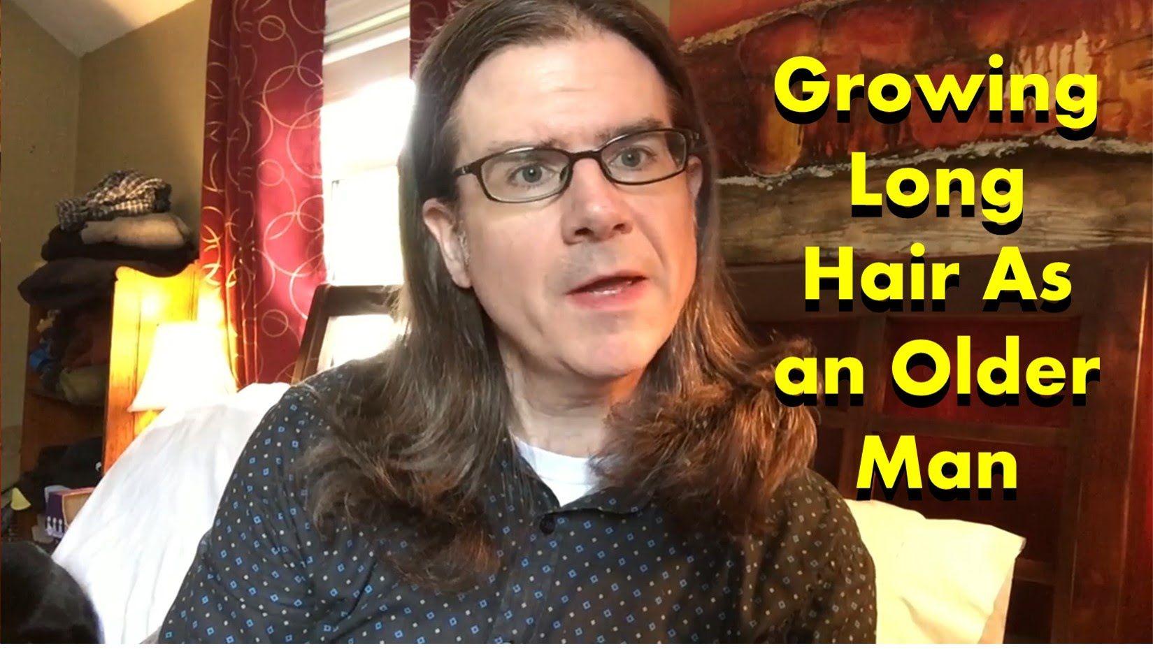 Growing long hair as an older man grow long hair long