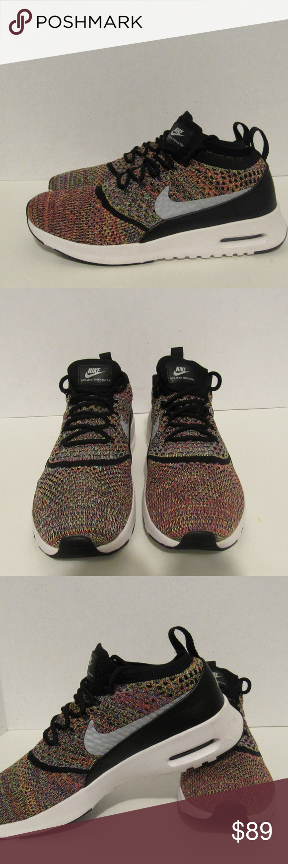 77cfe5851e7 Nike Air Max Thea Ultra Flyknit Rainbow shoe Nike Air Max Thea Ultra Flyknit  Rainbow Running