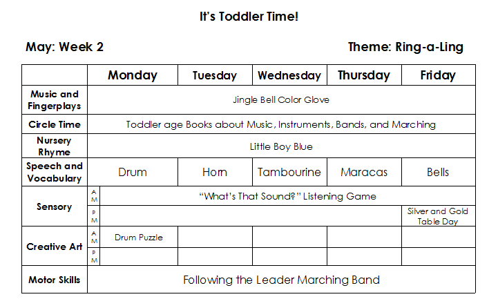 Lesson Plan Example  Preschool    Lesson Plan Examples