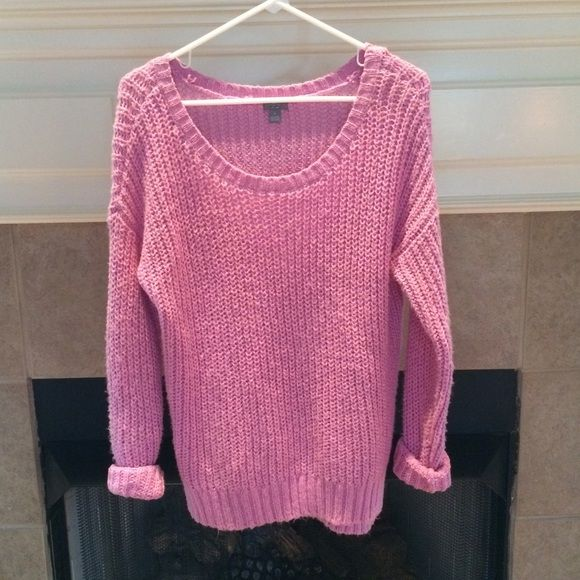 FRIYAY SALE Chunky Pink Sweater The best sweater ever! Only ...