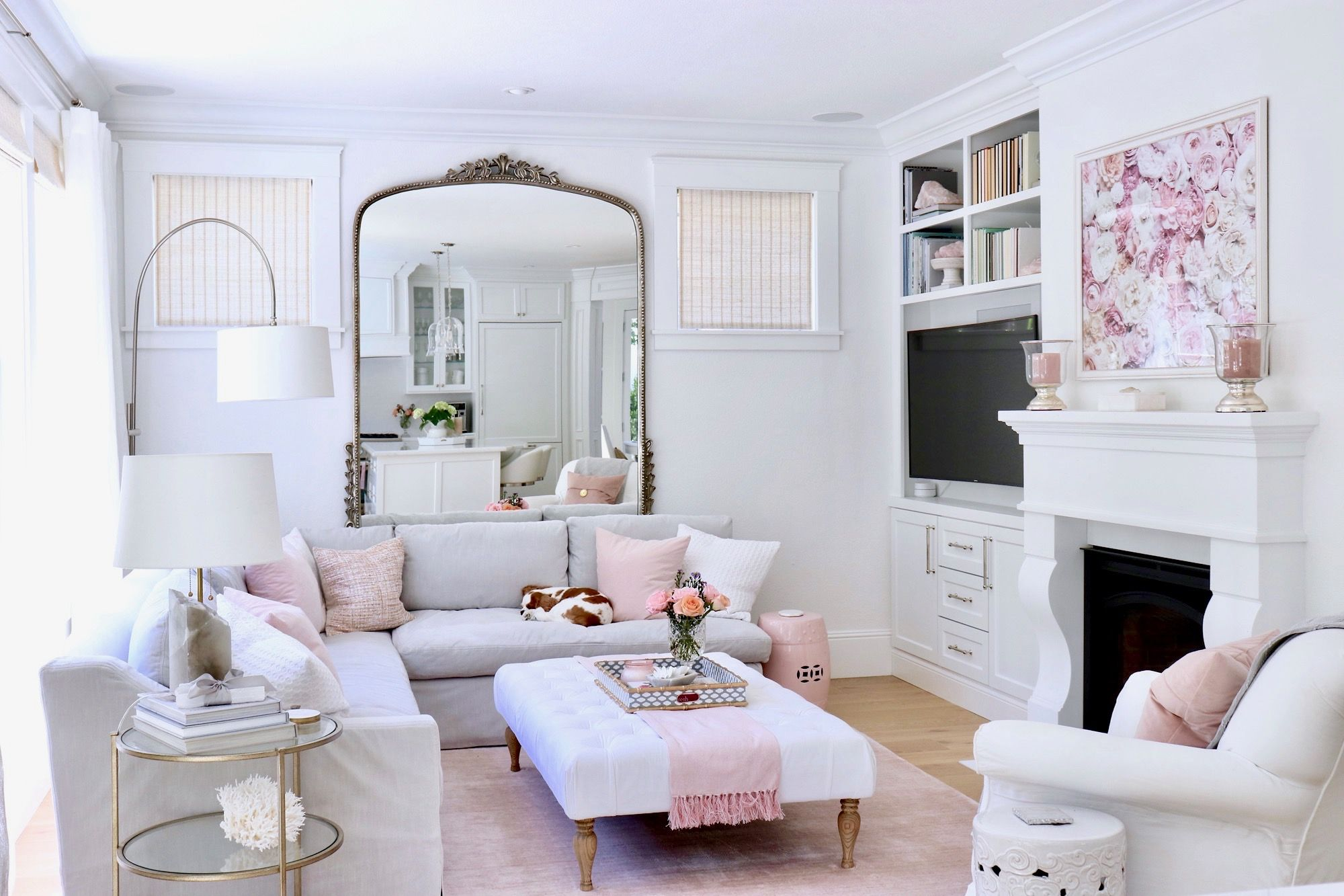 Loveliest Looks Of Summer Home Tour Fashion Decor And Food Summer Living Room Decor Living Room Decor Curtains Living Room Remodel #summer #living #room #curtains