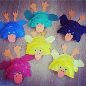 paper plate duck craft & paper plate duck craft | Paper plate animals craft | Pinterest ...