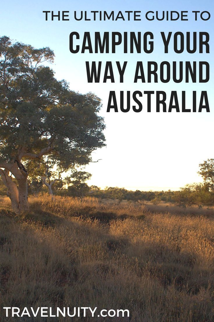 The definitive but concise guide on camping your way around Australia: time of year, camping sites, vehicle, camping gear and what else to pack.