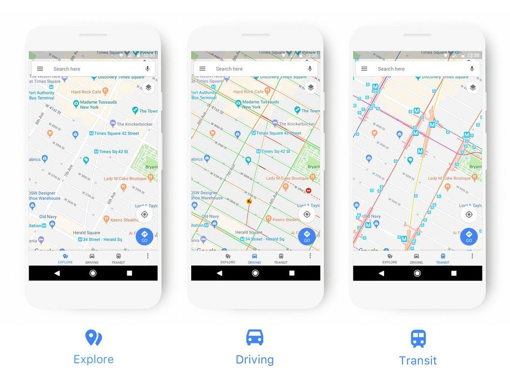 Google Is Pushing Out An Update To Google Maps For Android With This Update Google Wants To Make It Easier For Google Maps Users T Map Web History Map Design