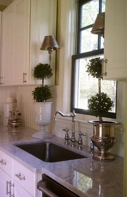 Beadboard Backsplash Marble Counter Kitchen Backsplash