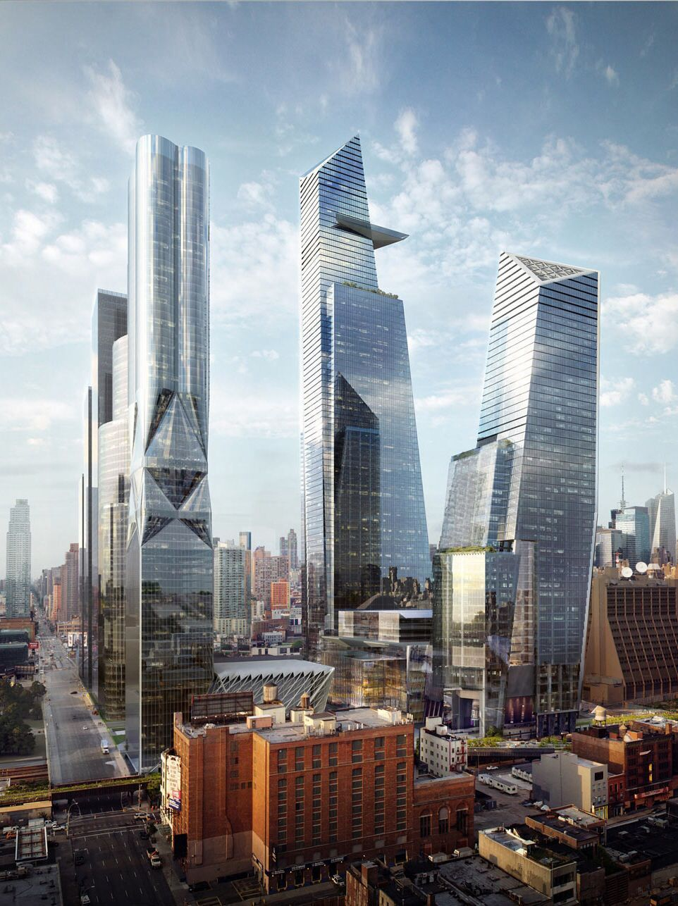 Future Towers To Be Built In New York City New York City