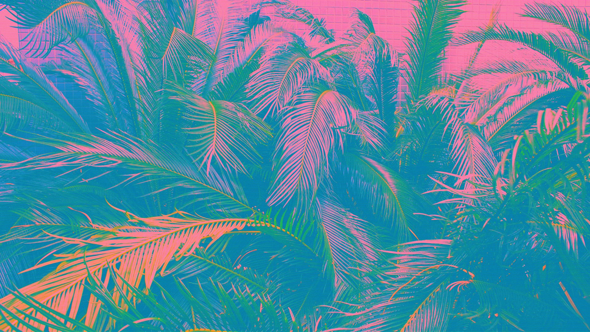 glitched 1920x1080 wallpapers in 2018 pinterest vaporwave