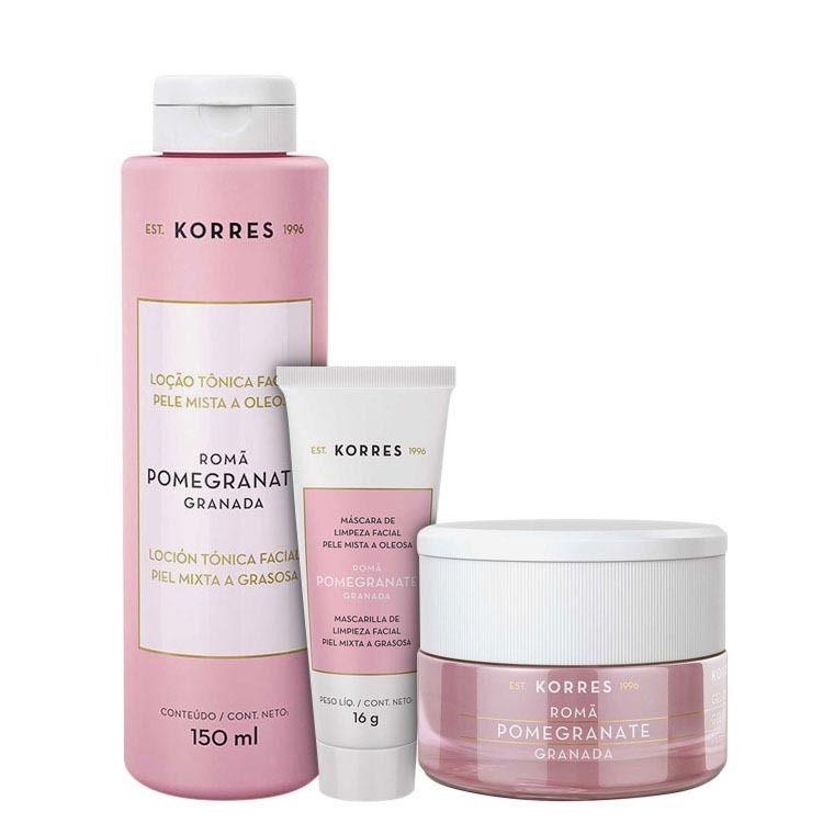 thumb Korres Pomegranate - Skin Care Kit (3 Produtos)