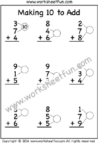making  to add  one worksheet  ways to make a number  pinterest  making  to add  one worksheet