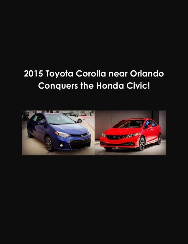 Which compact sedan comes out on top the Toyota Corolla