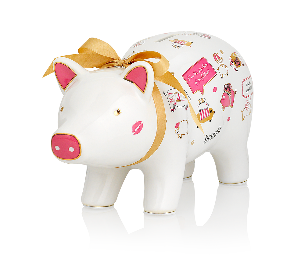 Benefit piggy bank