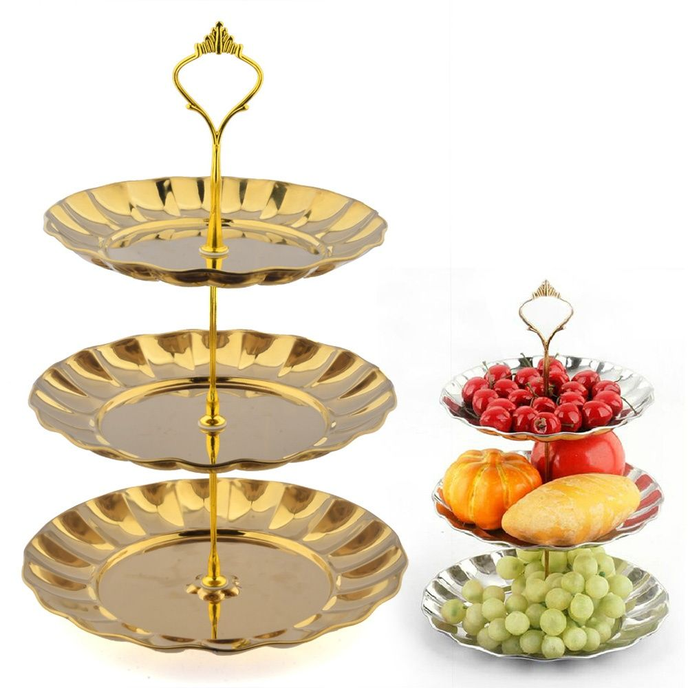 Cheap 3 tier Buy Quality cake stand directly from China gold cake stand Suppliers HIPSTEEN 3 Tier Stainless Steel Gold Cake Stand Top Quality Circle Round ...  sc 1 st  Pinterest & 3 Tier Stainless Steel Gold Cake Stand Top Quality Stainless Steel ...
