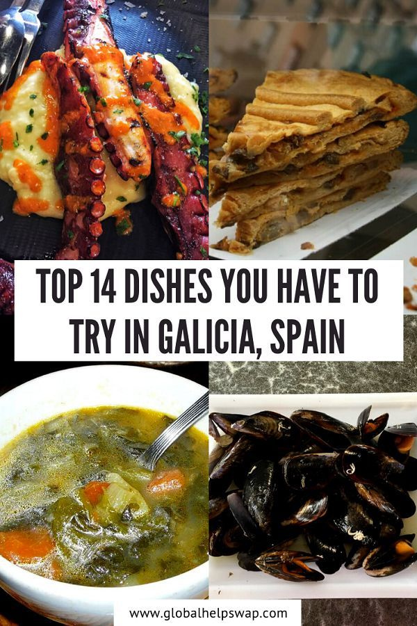 One of the biggest joys of travel is trying new cuisines and dishes. If you travelling to Galicia then you have to try these 14 dishes to get a real taste of the place. | Traditional Galician Dishes | Best Foods To Try In Spain | Spanish Cuisine | Best Foods In Galicia | What To Eat In Spain | Wher To Eat In Galicia | Galician Cuisine | #Spain #Galicia #Cuisine #FoodTravel #FoodTraveler #Europe #Food #Travel #Foodie #FoodieTraveler #FoodTourism #TrvelSpain