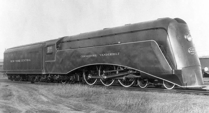 New York Central Train photo 4 Vanderbilt Railroad 20th Century LTD  art deco