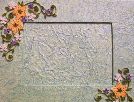 Pics For > Paper Quilling Frames | Quilling Borders | Pinterest ...