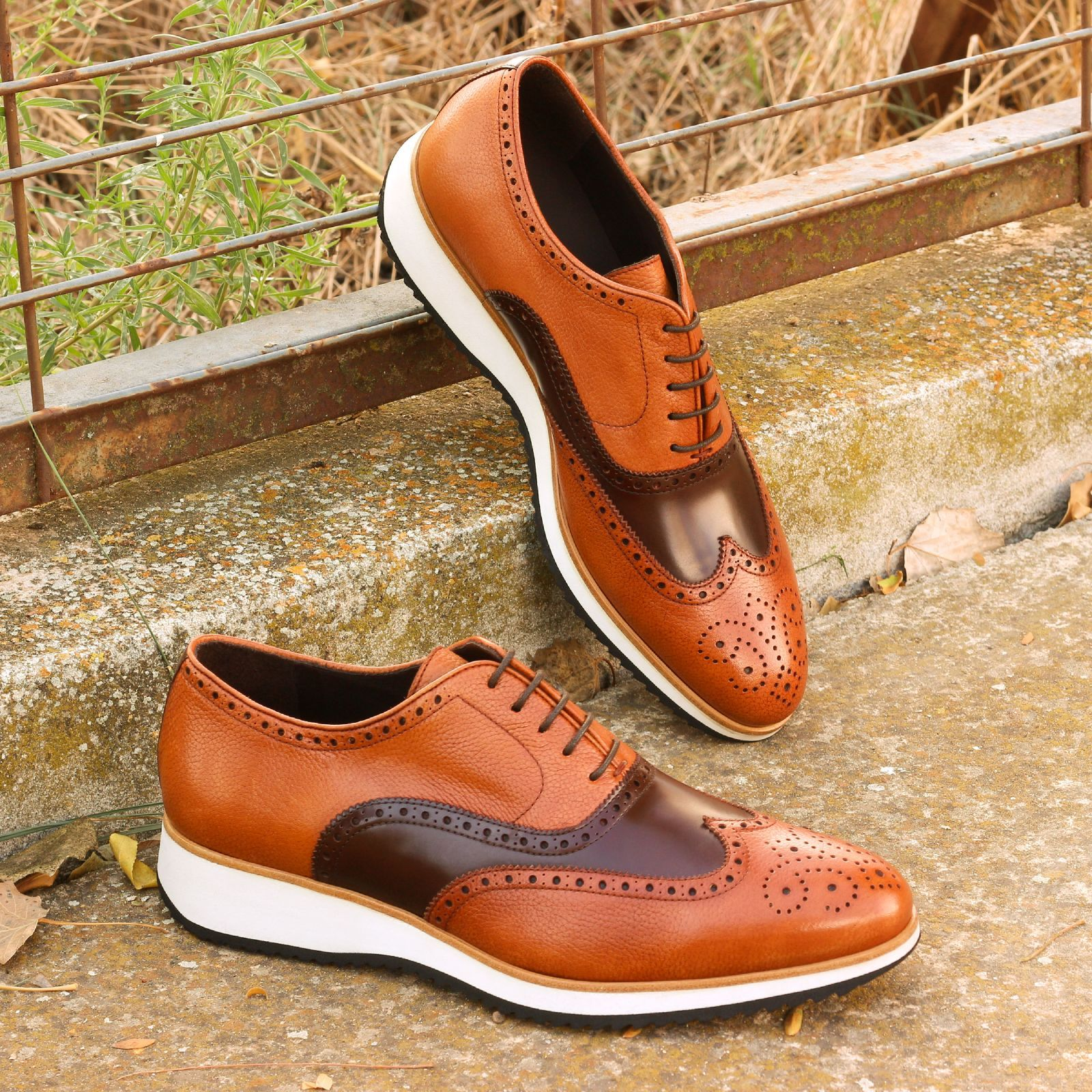 dress shoes with running soles