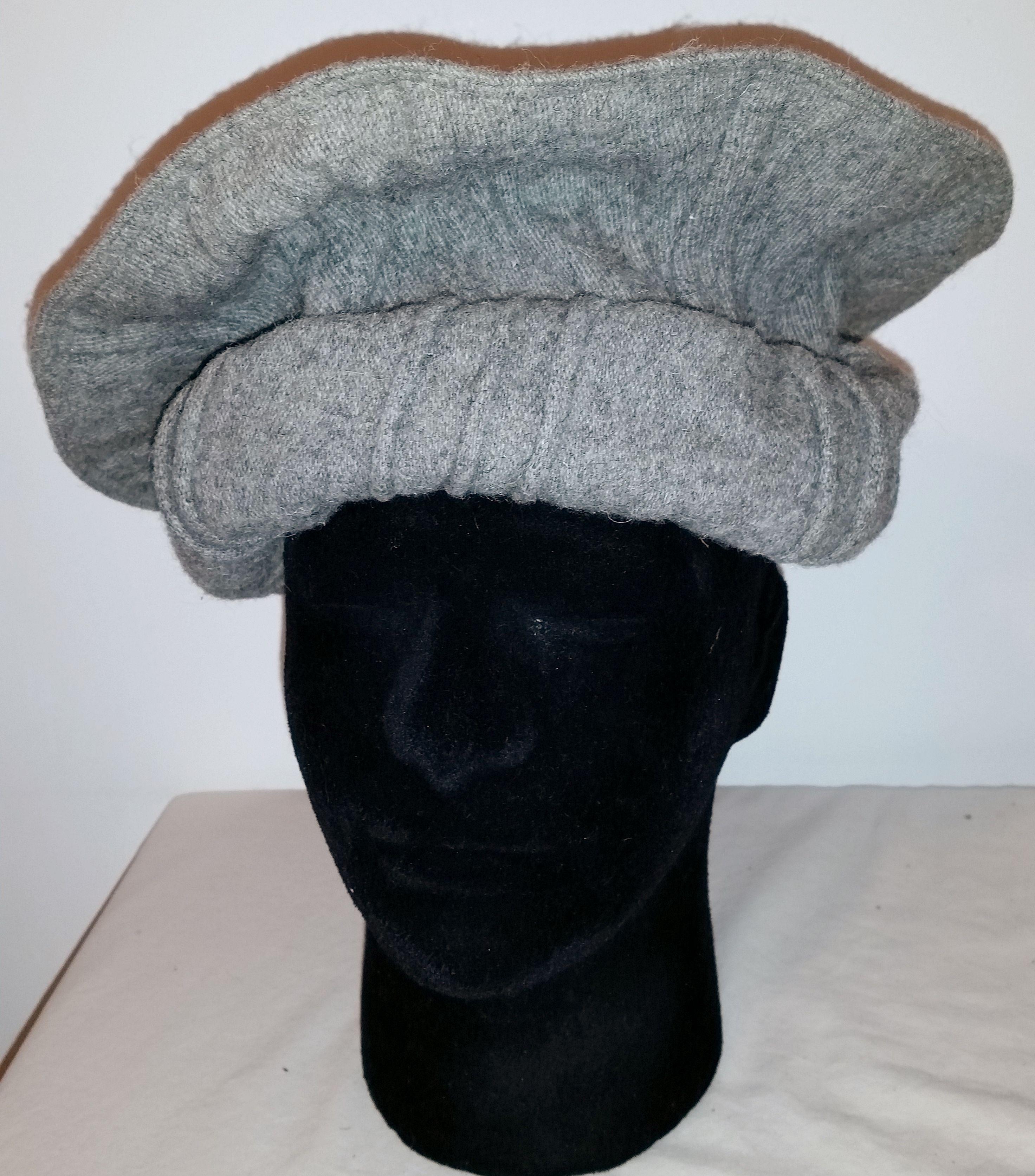 Pakistan Pakol Hat Wool LARGE! Dari Pashto Pashtun Chitrali