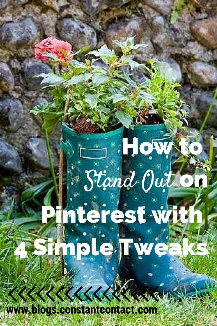 What you can do to create an Pinterest account that stands out - 4 simple tweaks