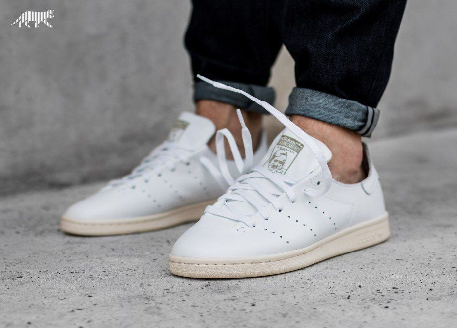b525eab487b adidas Stan Smith Lea Sock (Ftwr White   Ftwr White   Off White ...