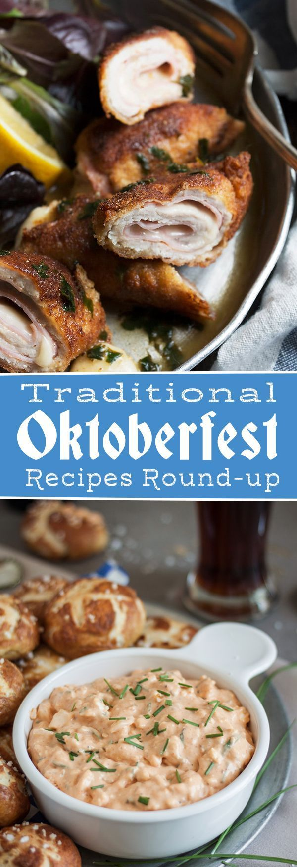 Oktoberfest Food Favorites - Traditional Appetizers, Entrees and Desserts