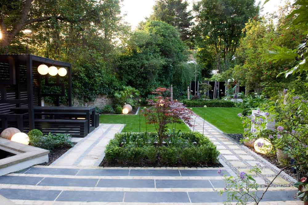 Before After A Modern Japanese Garden In North London On Design Sponge Modern Japanese Garden Modern Garden Low Maintenance Garden Design