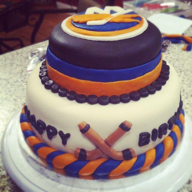 NY Islanders cake Matthew Pinterest