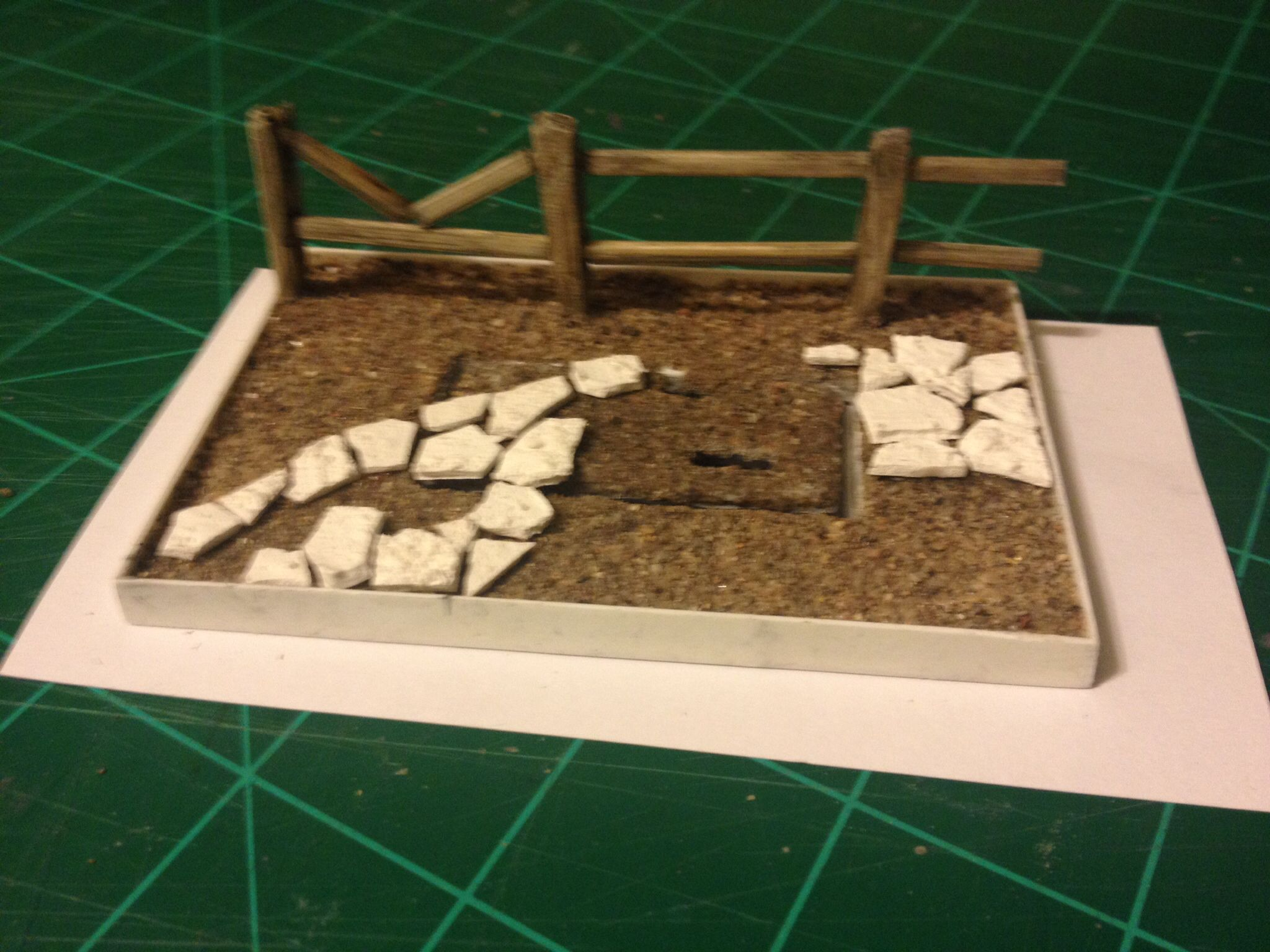 A base I started for a friends kick ass model