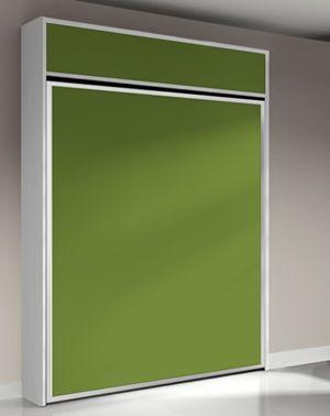 armoire lit escamotable fleet ouverture verticale avec. Black Bedroom Furniture Sets. Home Design Ideas