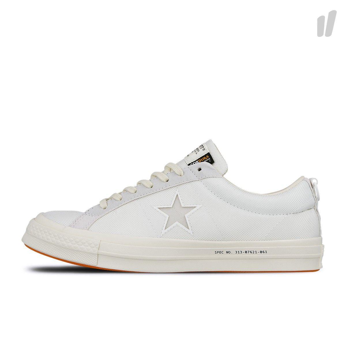 Carhartt WIP x Converse One Star OX ( 162821C White