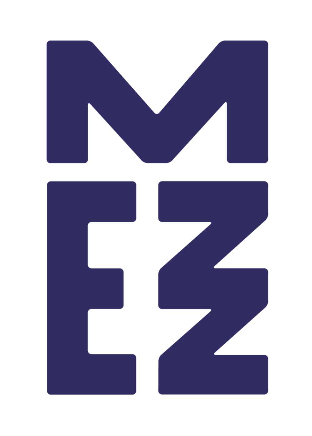 New Logo And Identity For Mezz By Das Buro L O G O Pinterest