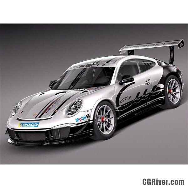 Porsche 911 GT 3 Cup 2013 - 3D Model