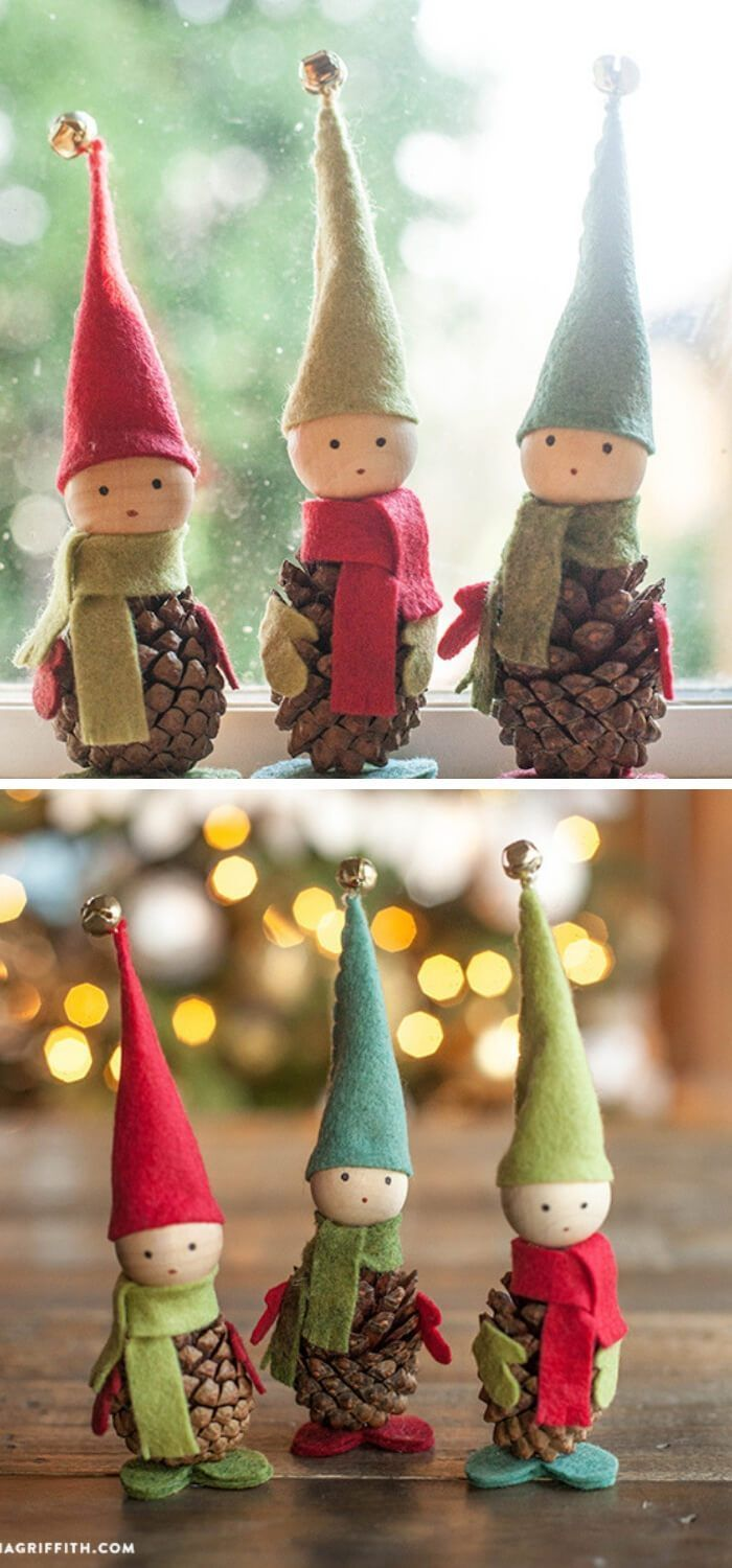 Photo of 21 Easy Christmas Ornaments To Make and Sell   The Mummy Front