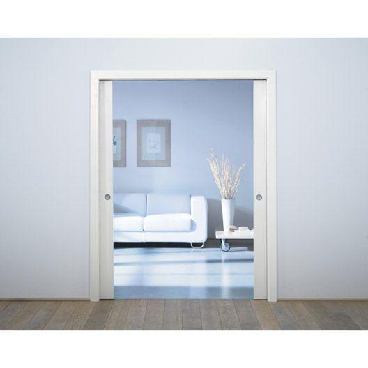 syst me galandage aluminium porte de largeur 2 x 103 cm portes coulissantes pocket doors. Black Bedroom Furniture Sets. Home Design Ideas
