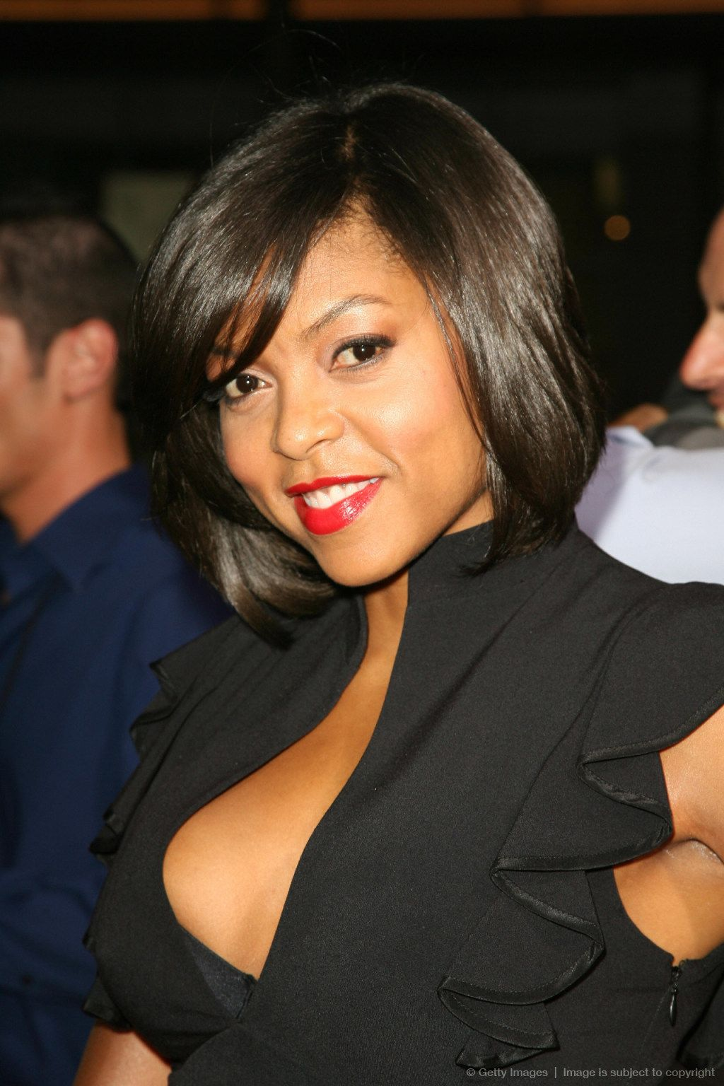 Actress Taraji P. Henson arrives at the Taraji p henson