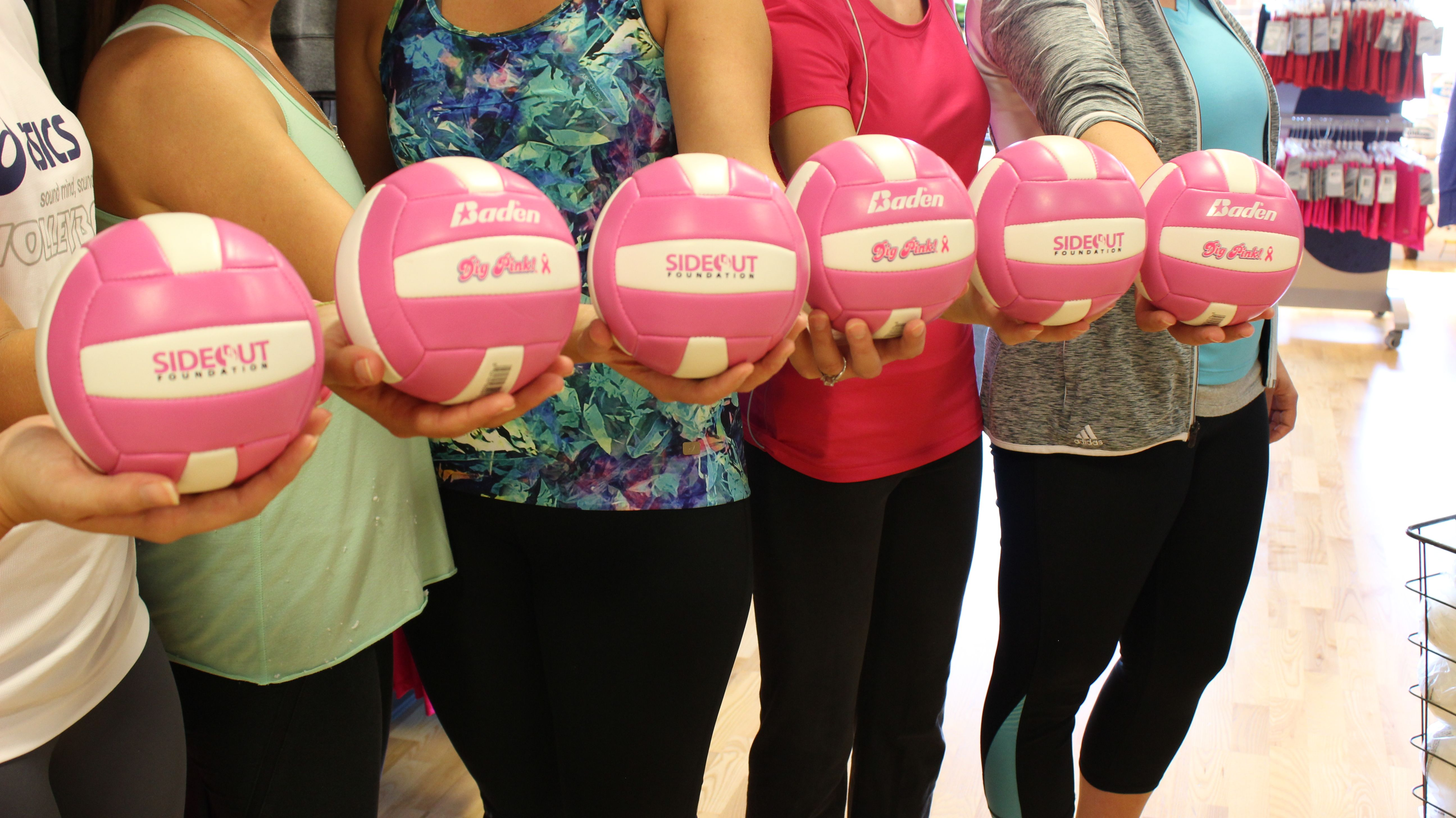 Pin By Madison Kruse On Volleyball Pink Pride Dig Pink Volleyball Outfits