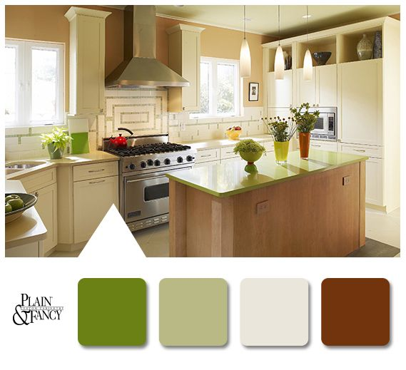 natural earthy color palette, available at winslow kitchen studio