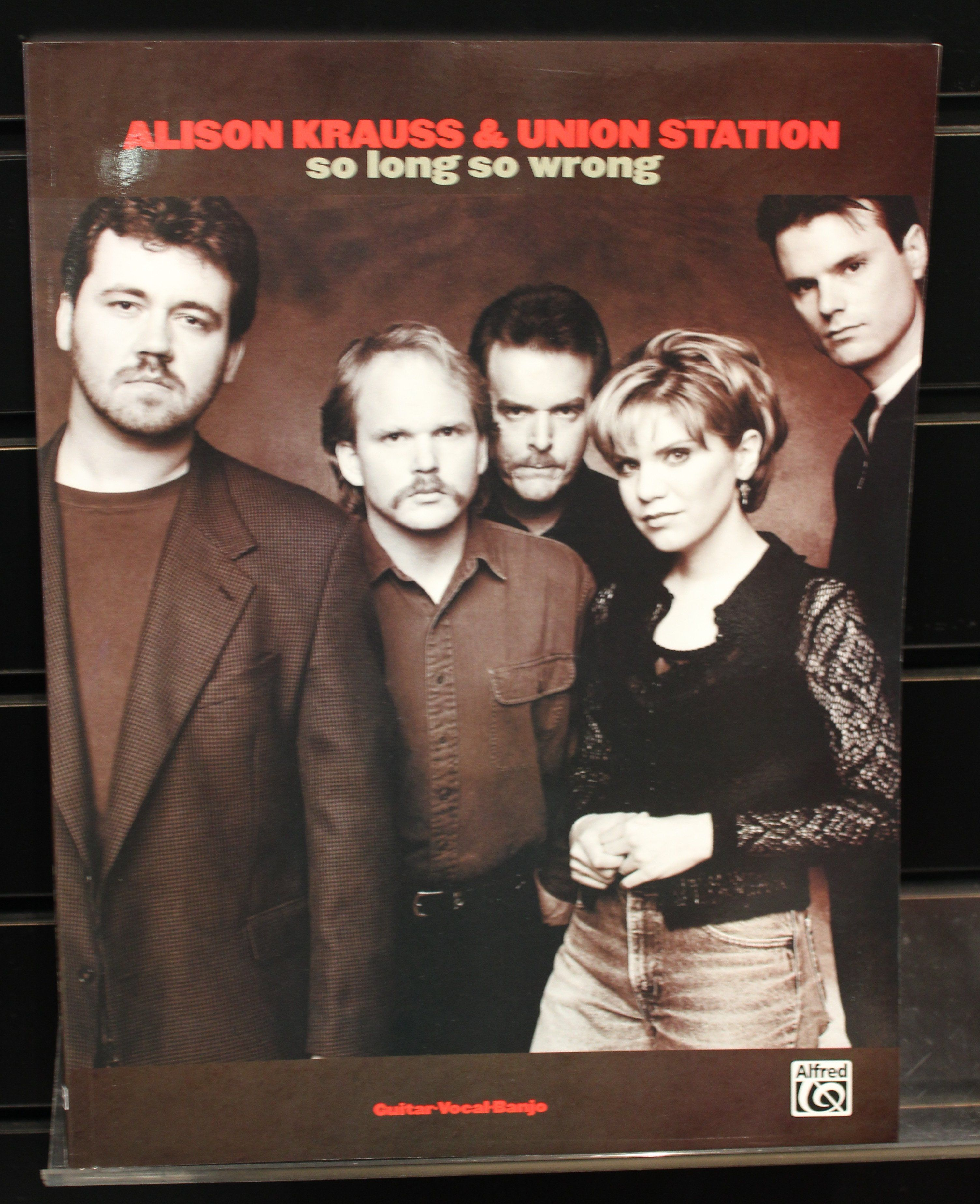 Alison Krauss Union Station So Long So Wrong Guitar Banjo Vocal