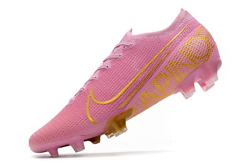 New Nike Mercurial Vapor Xiii Elite Acc Fg Pink Gold In 2020 Soccer Cleats Nike Nike New Nike