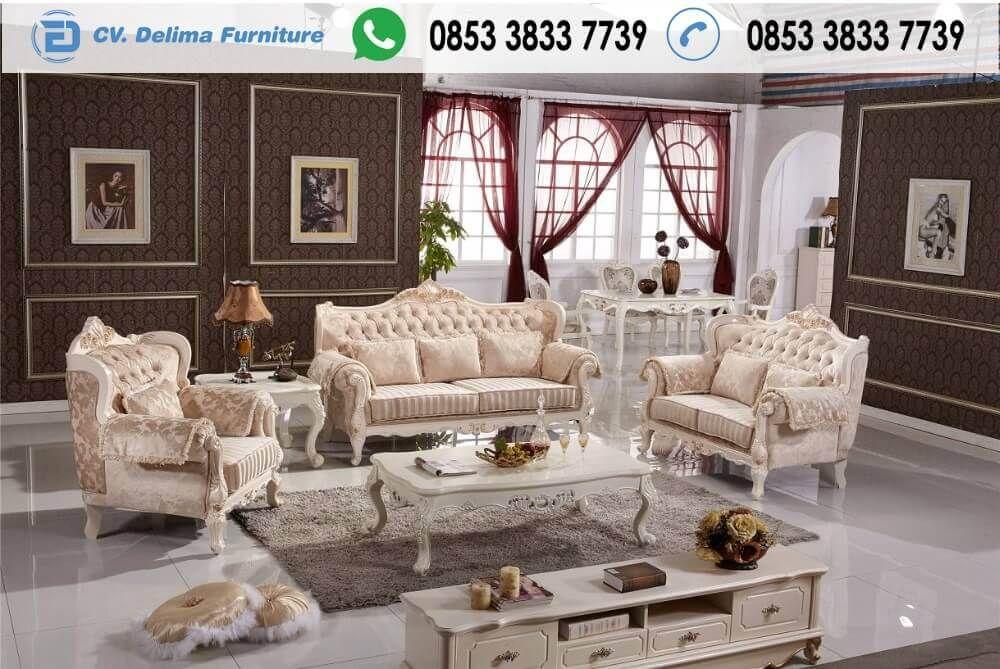 Kursi Tamu Romawi Klasik Modern Harga Murah Sofa l