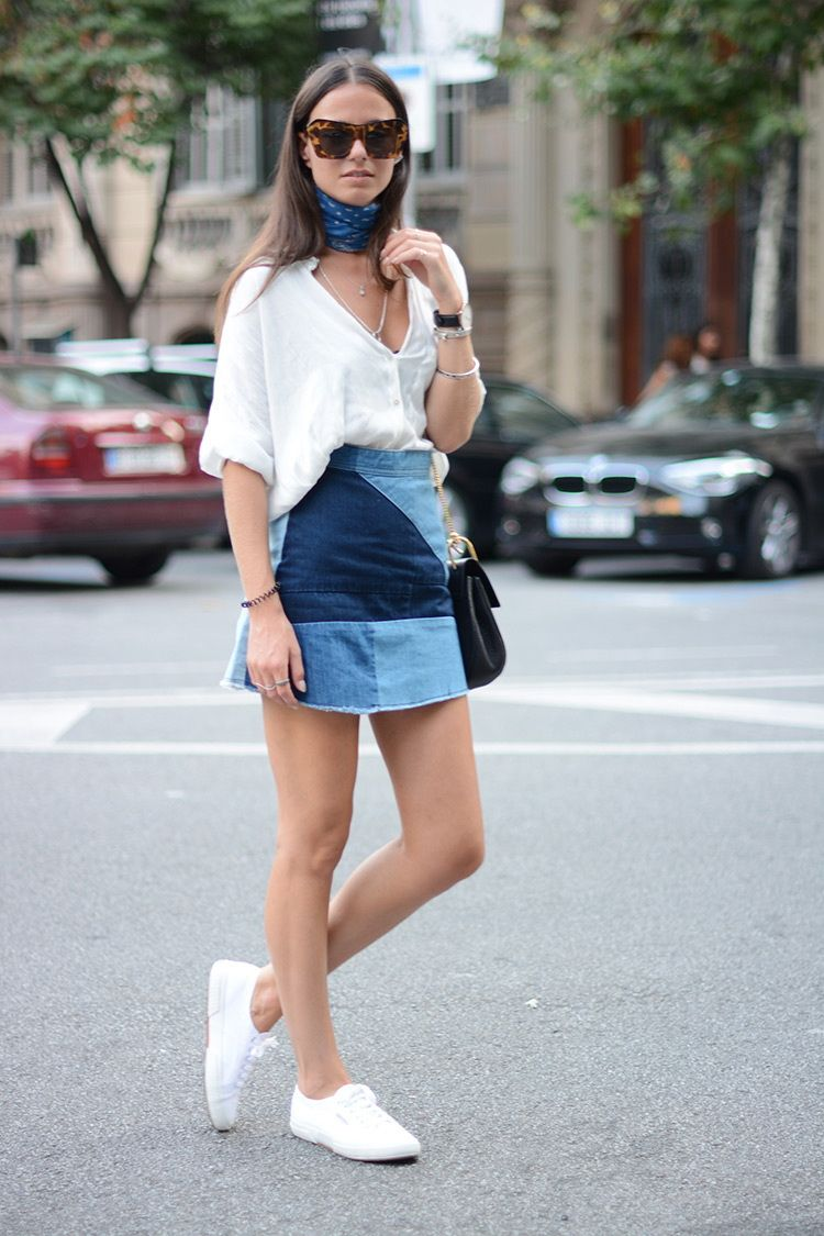 denim mini skirt 2016 style 1 | Fashion Ideas | Pinterest | Denim ...